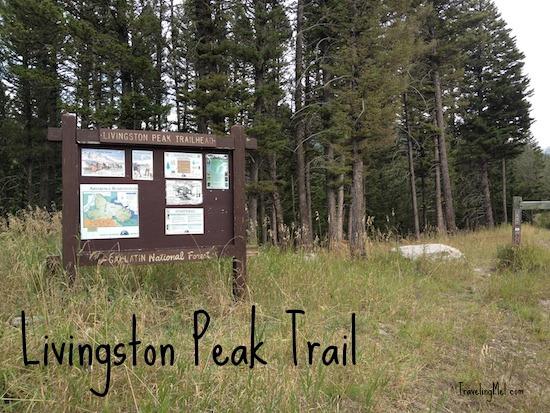 Livingston Peak Trail directions