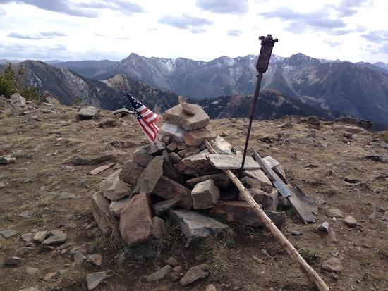 Summit view of Livingston Peak.