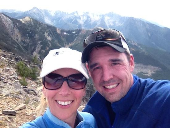 Livingston Peak in Montana
