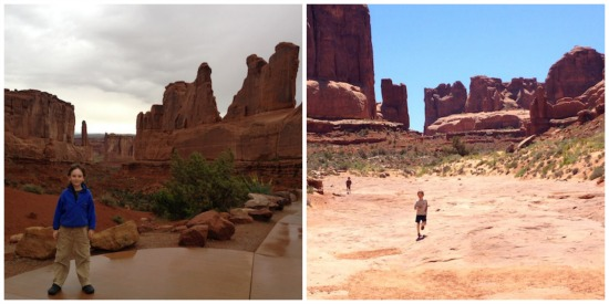Park Avenue Trail in Arches National Park