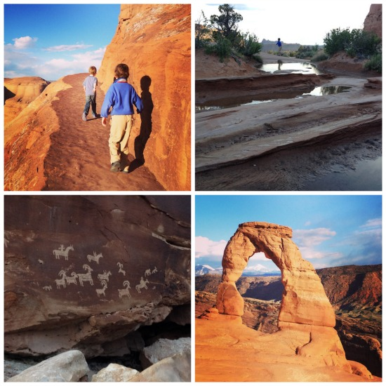 Delicate Arch hike in Arches National Park.