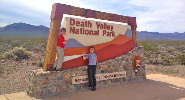Death Valley for kids and families.