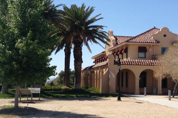 The Kelso Depot Visitor Center in Mojave