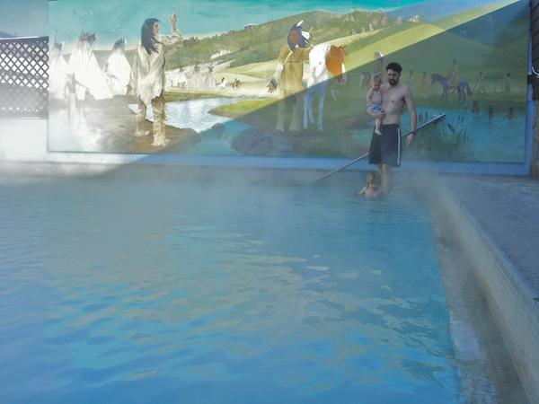 White Sulphur Springs hot springs pool