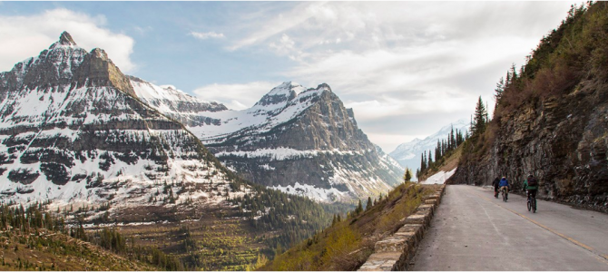 Biking in Glacier and Yellowstone
