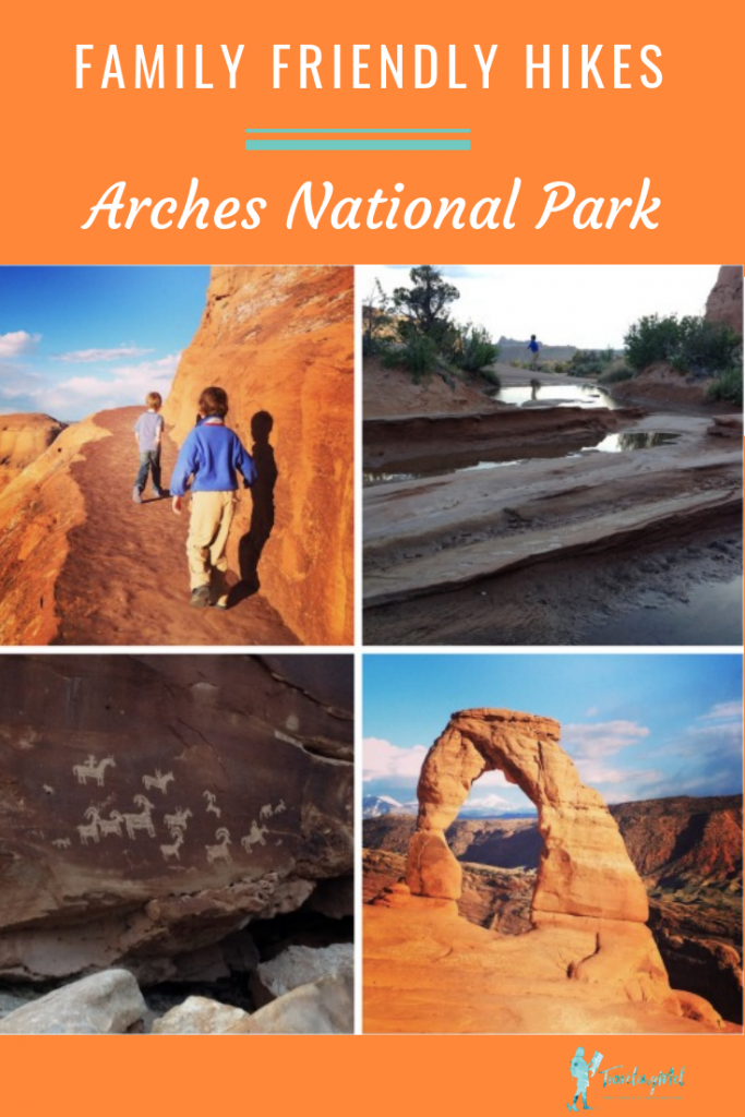 hat are the best family friendly hikes in Arches National Park? Here are our favorite hikes for kids and families in Arches National Park and Moab. I Arches National Park with kids hikes