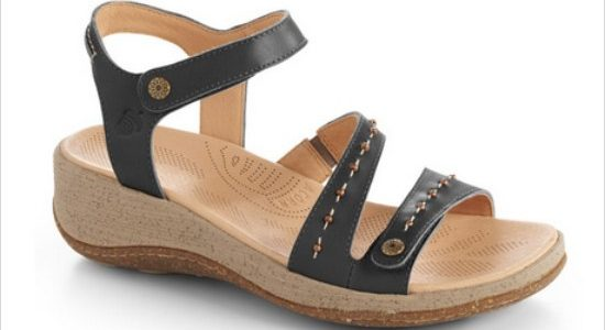 Vista Wedge Sandals – Acorn