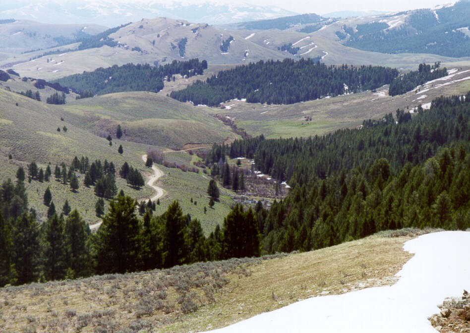 Lemhi Pass on the Lewis and Clark Trail