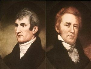 Meriwether Lewis and William Clark from WIkipedia