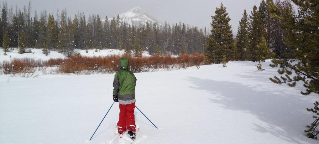 Mount Haggin Nordic Ski Area near Anaconda Montana