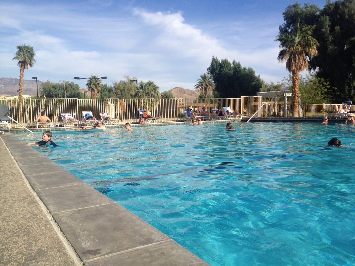 furnace creek swimming pool death valley national park