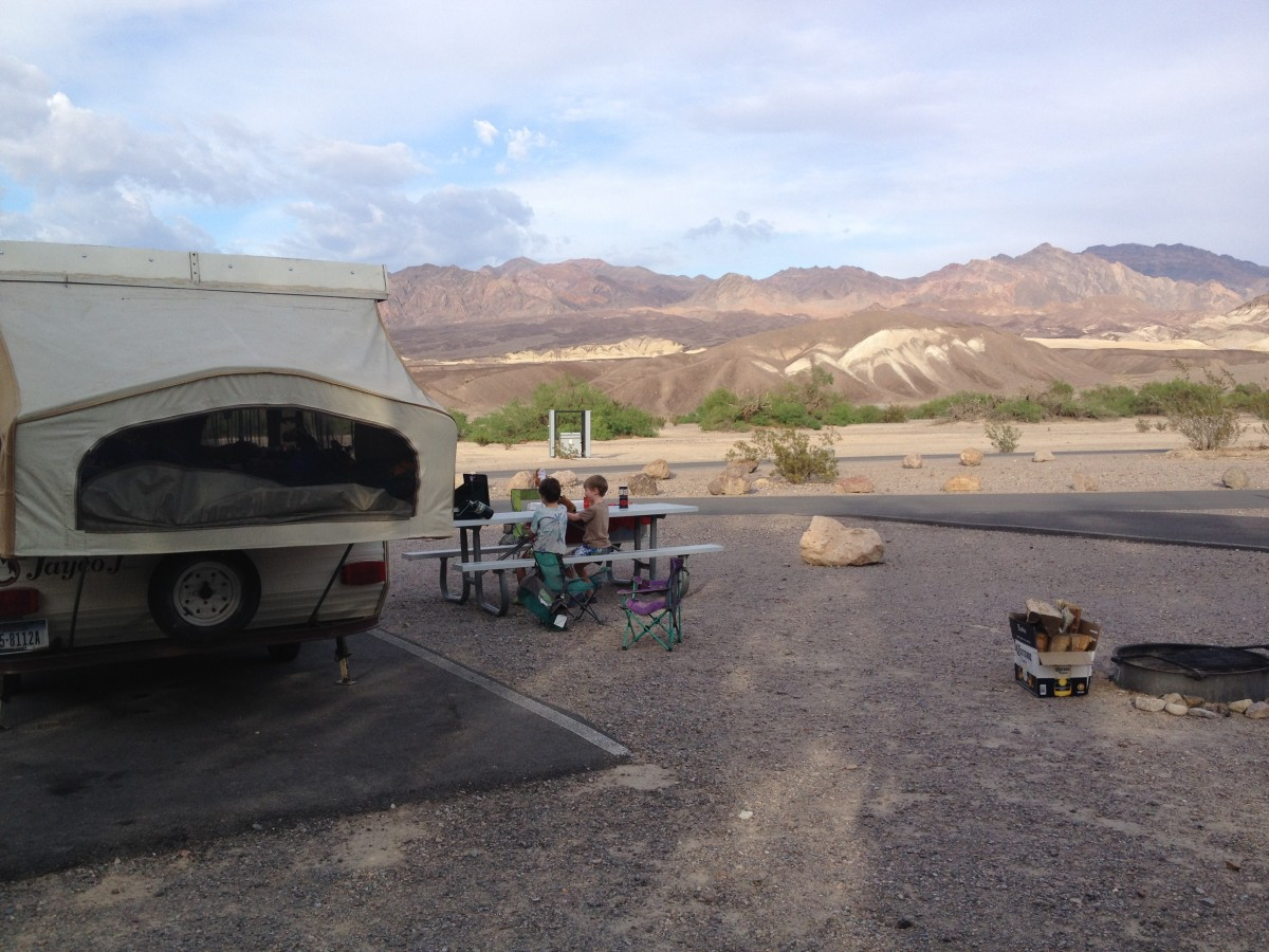 camping Furnace Creek Death Valley
