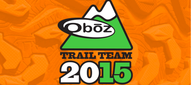 I'm on the Oboz Trail Team!