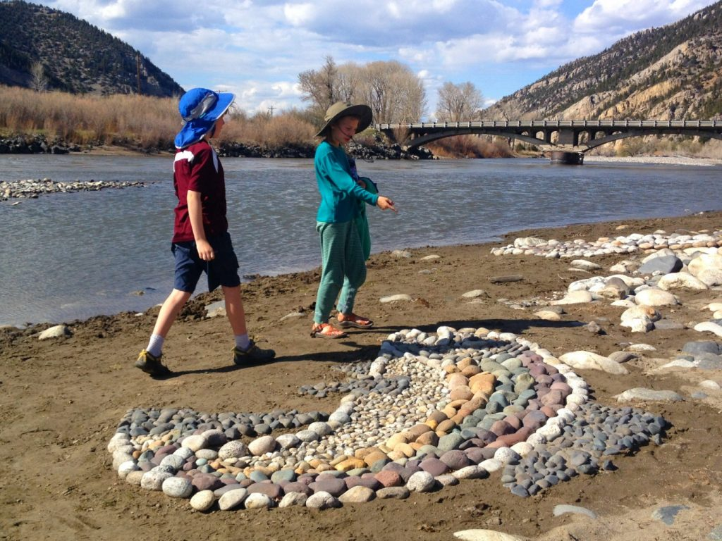 The Yellowstone River inches closer to the trout.