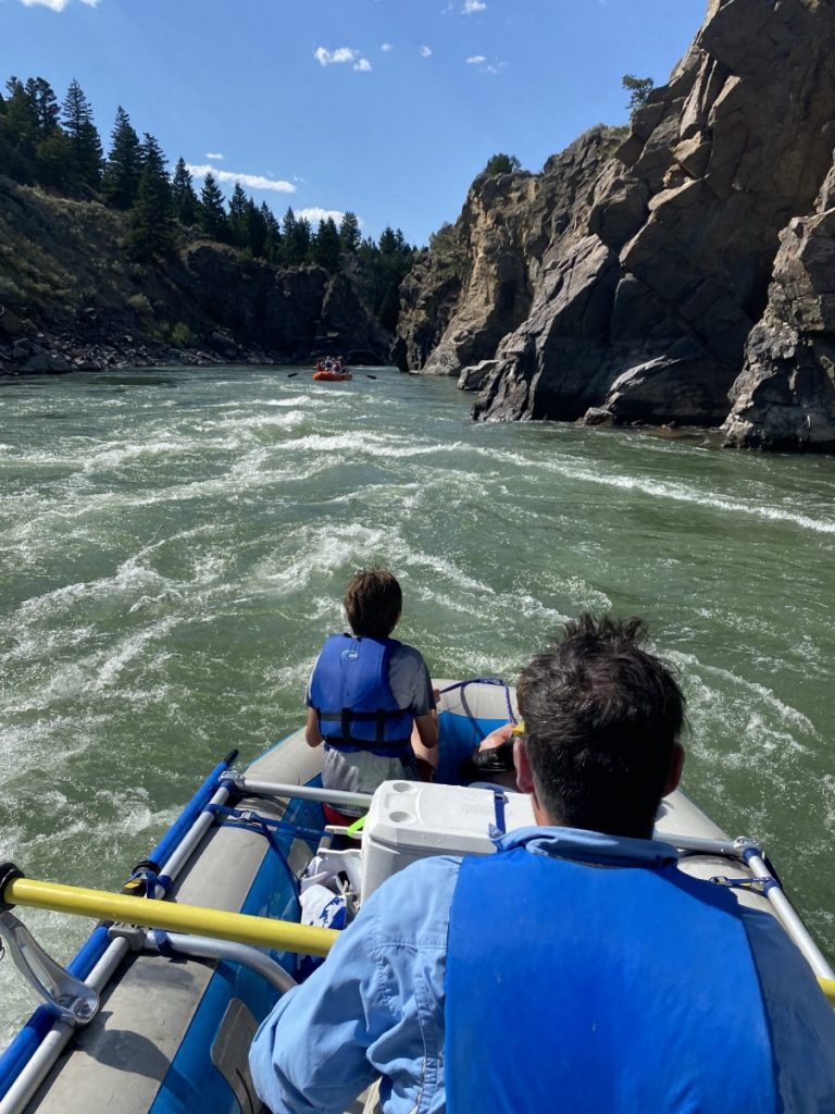 Things to do in Livingston include rafting on the Yellowstone River in Yankee Jim Canyon