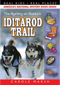 Mystery on the Iditarod Trail mystery books for kids