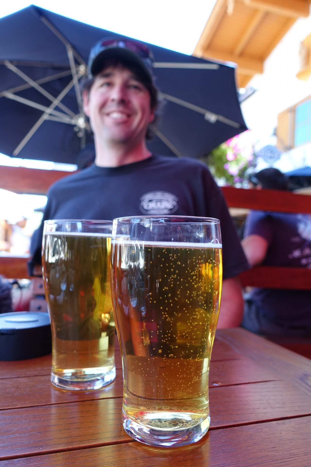 Highway 2 roadside attractions Beer at Sulla vida in Leavenworth, Washington -- beer tour.