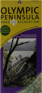 Olympic Peninsula/ Washington Coast, Road & Recreation Map