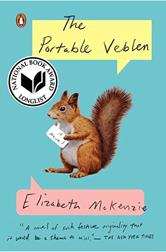 September book club recommendations the portable veblen by Elizbeth Mckenzie