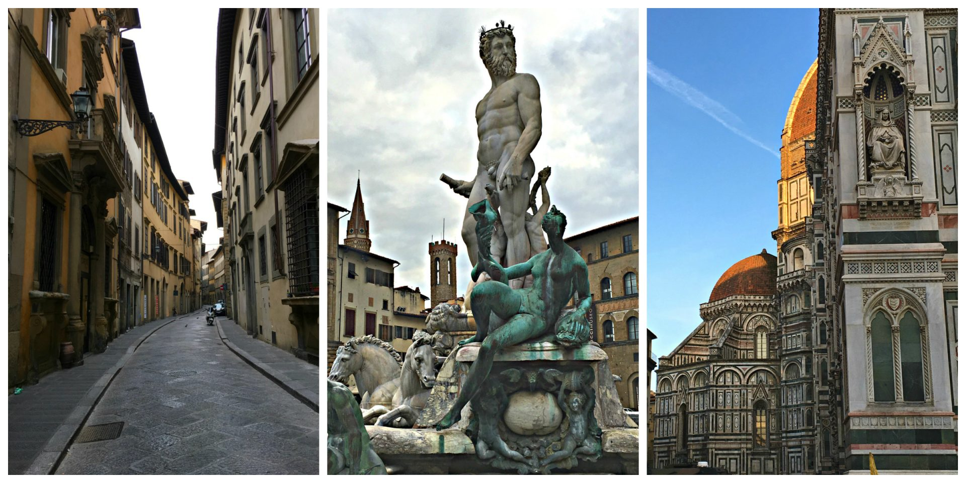 Florence, Italy (Firenze) Neptune, streets