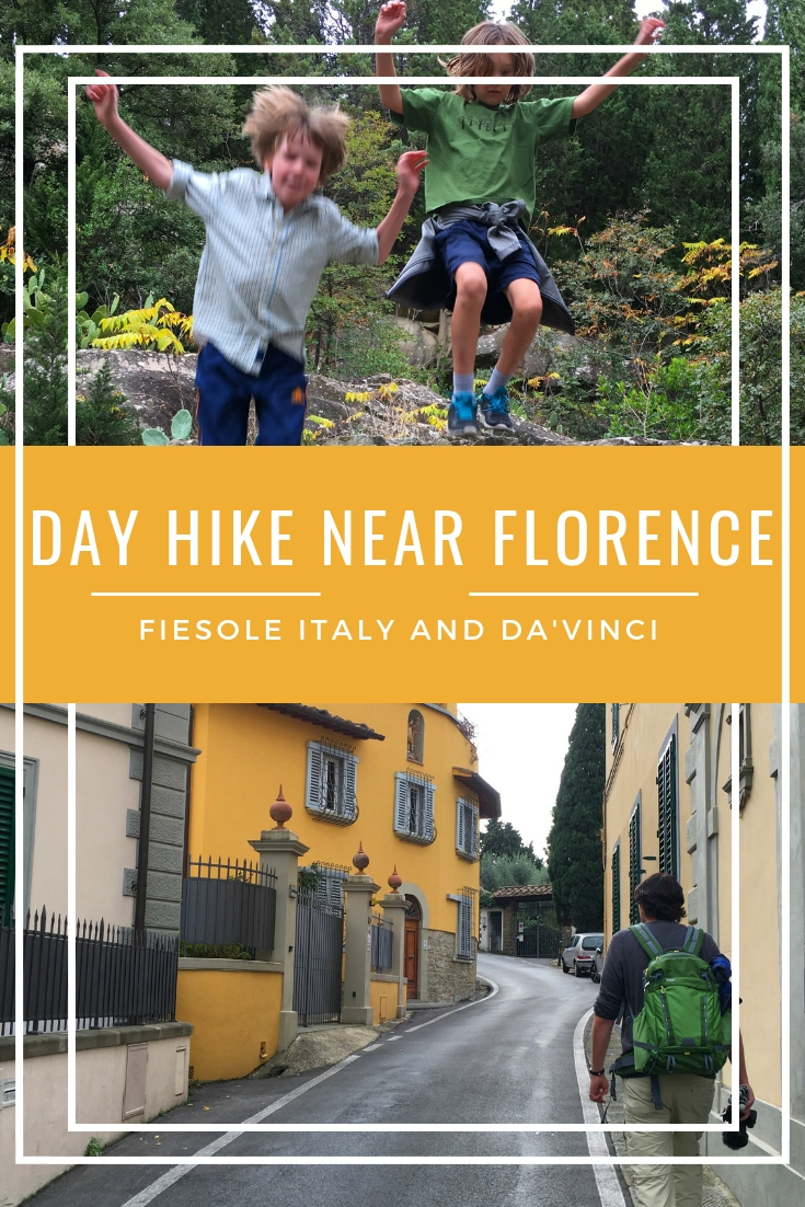 Day hike near Florence: Fiesole, Italy