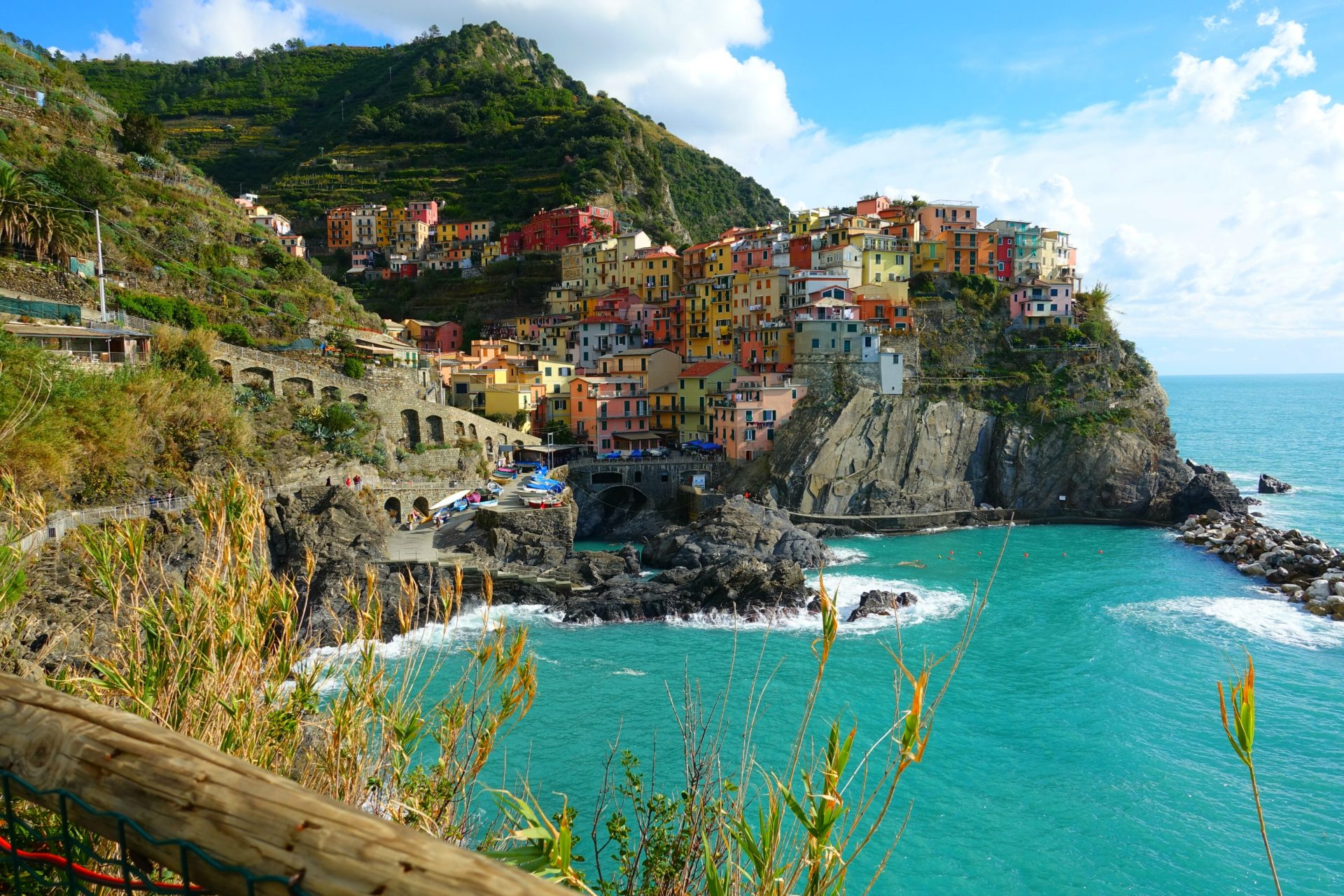 visiting cinque terre with kids travelingmel