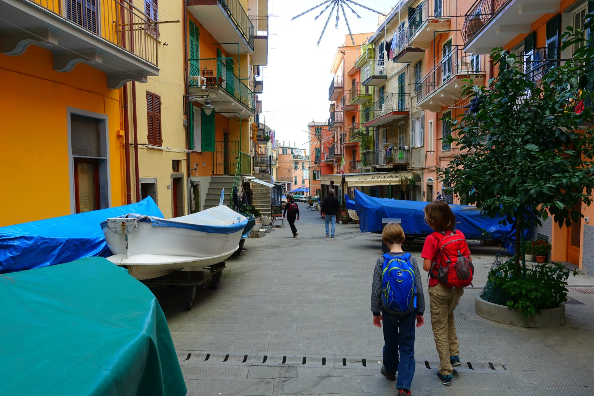 for accommodation cinque terre try booking.com