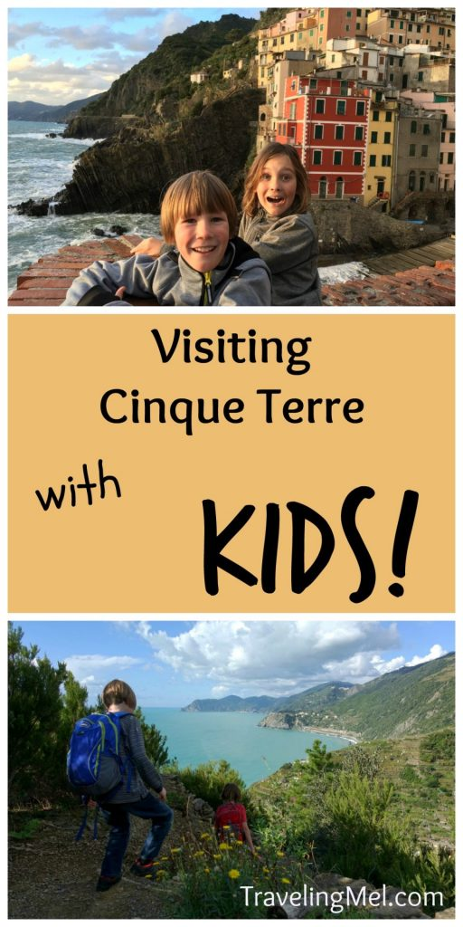 What you need to know for visiting the Cinque Terre with kids!