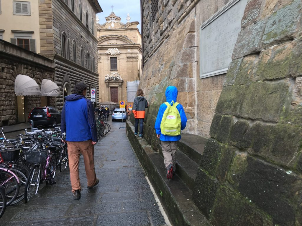 Things to do with kids in Florence Italy include family tour exploring florence with kids