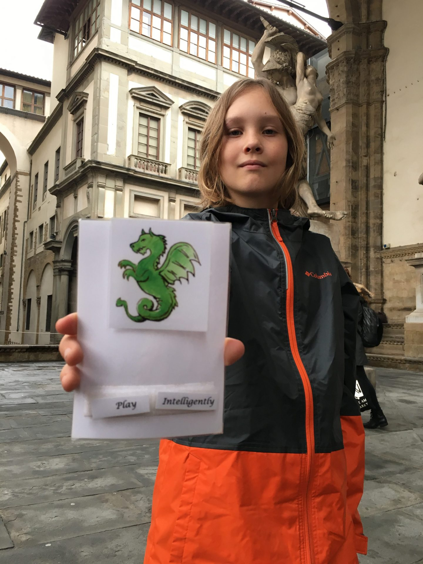 Things to do with kids in Florence Italy include family tour scavenger hunt