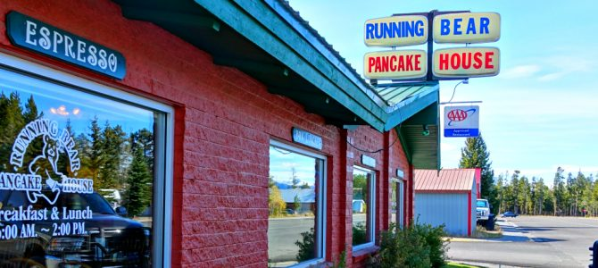 Running Bear Pancake House a West Yellowstone favorite