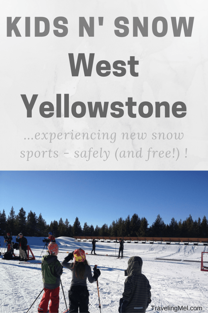"The Kid N' Snow program in West Yellowstone allows families to try new winter activities without ""first time fear""...and for free!"