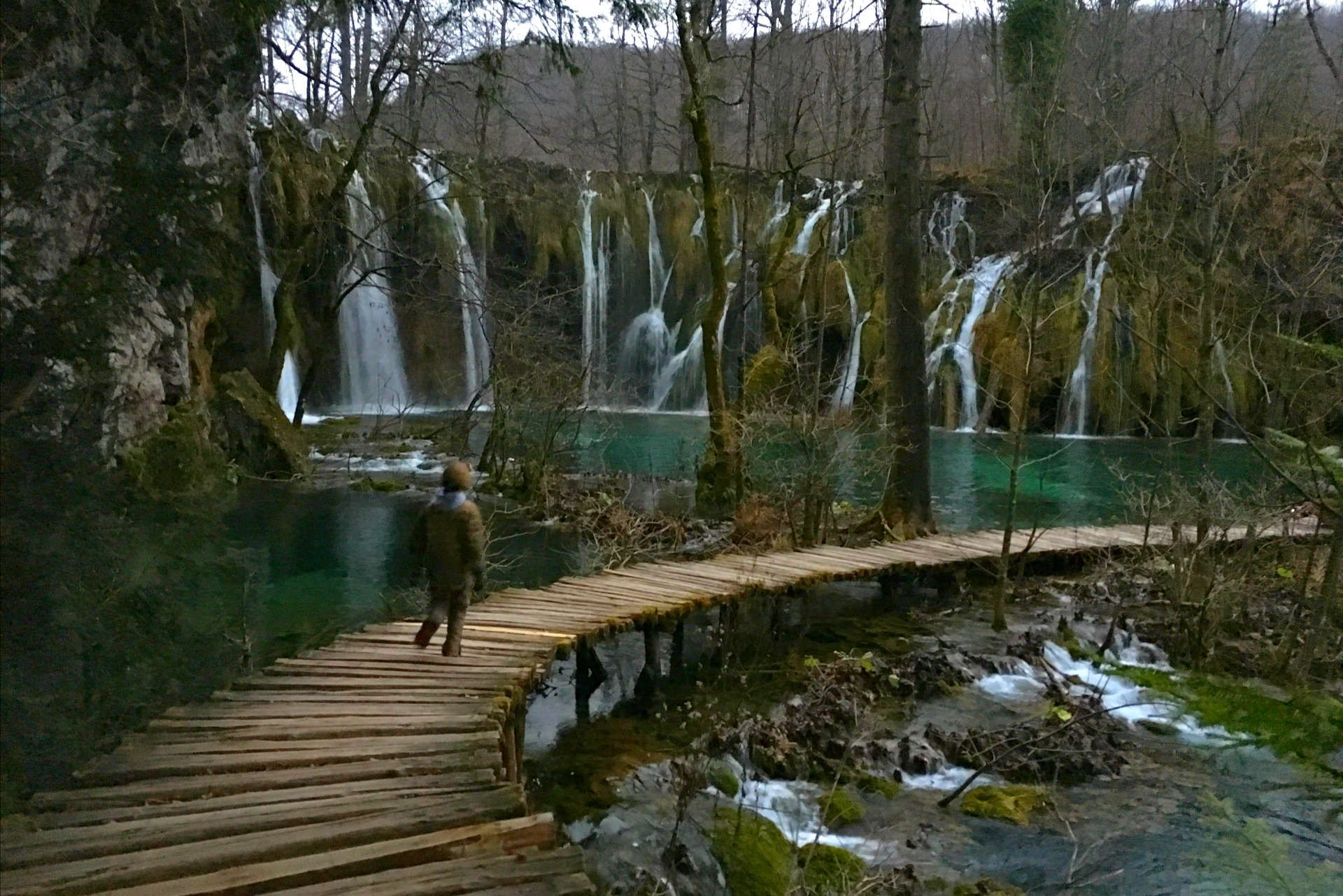 Walking in Croatia waterfalls