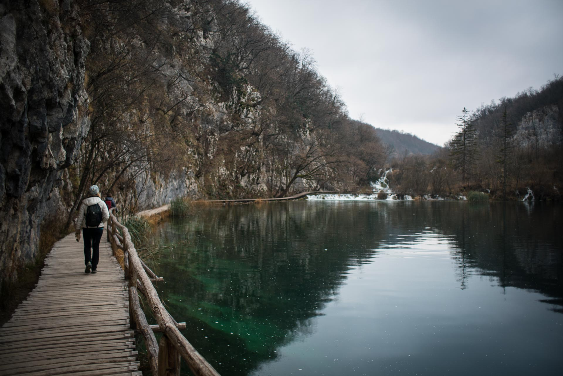 Plitvice National Park is known for boardwalks