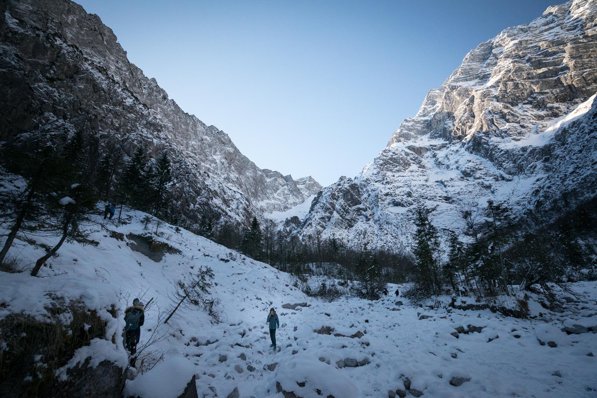 east face of mount watzmann berchtesgaden
