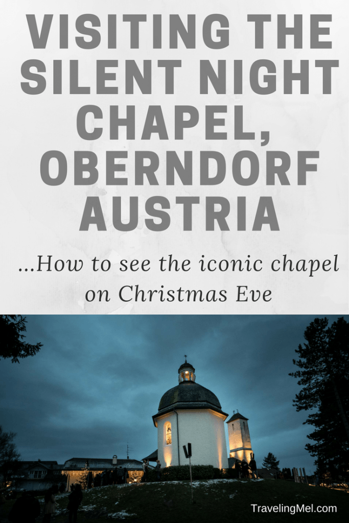 Every December 24 at 5 pm the town of Oberndorf celebrates at the Silent Night Chapel, home of the world's most famous Christmas carol. Here's what you need to know to visit yourself.