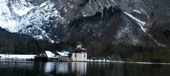 Berchtesgaden National Park in Winter