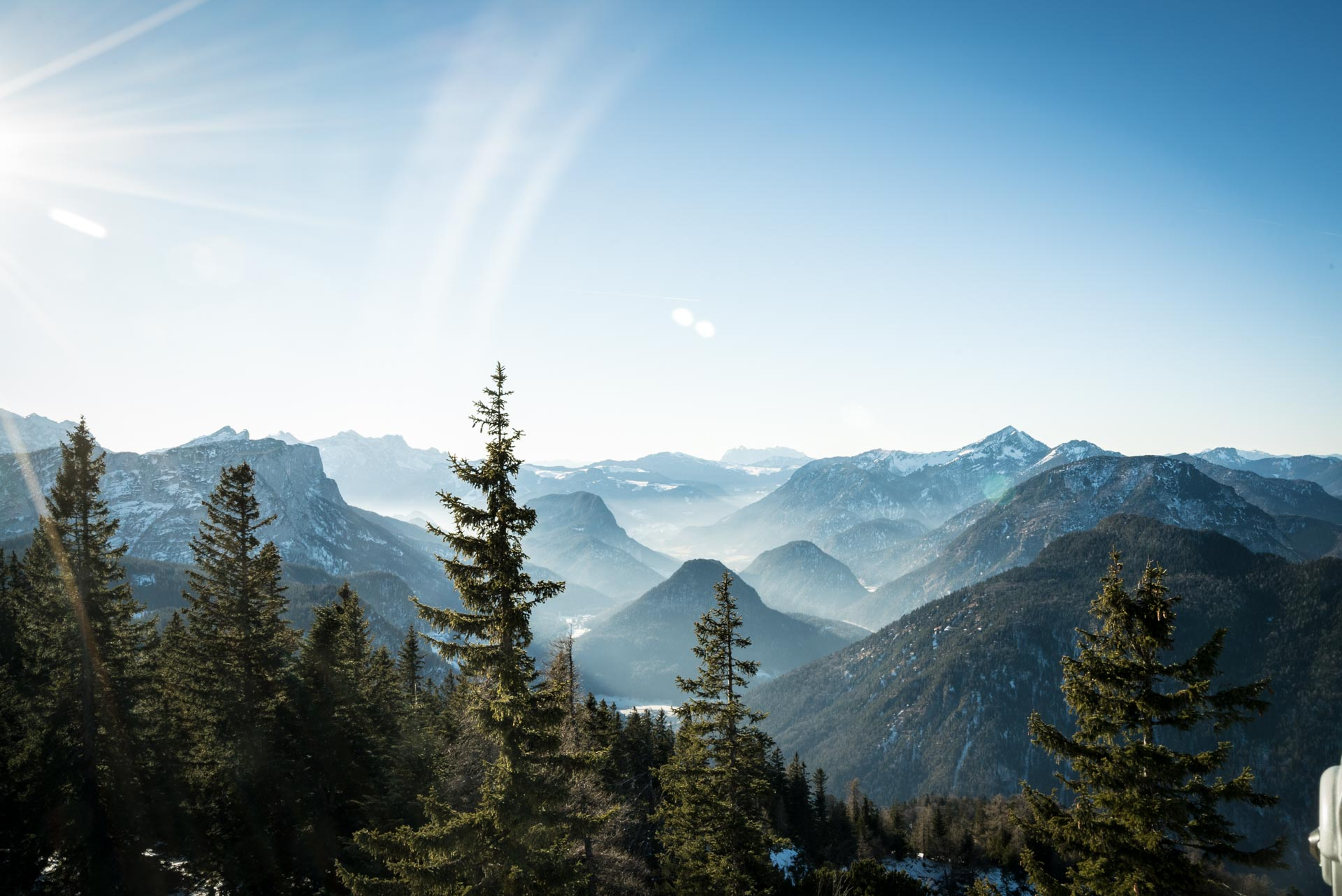 hiking trails in berchtesgadenerland gets you views like this