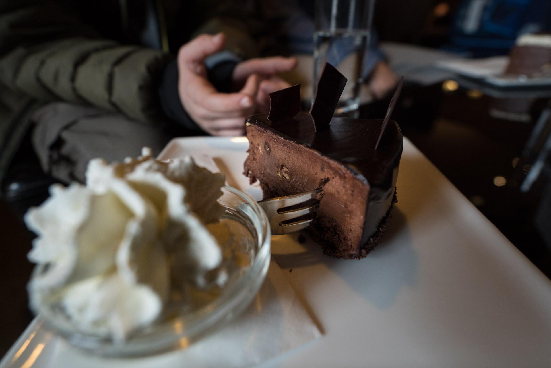best cake in Ljubljana