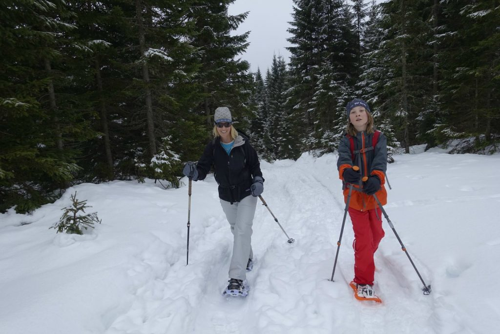 where to rent snowshoes near Lake Bled Triglav National Park