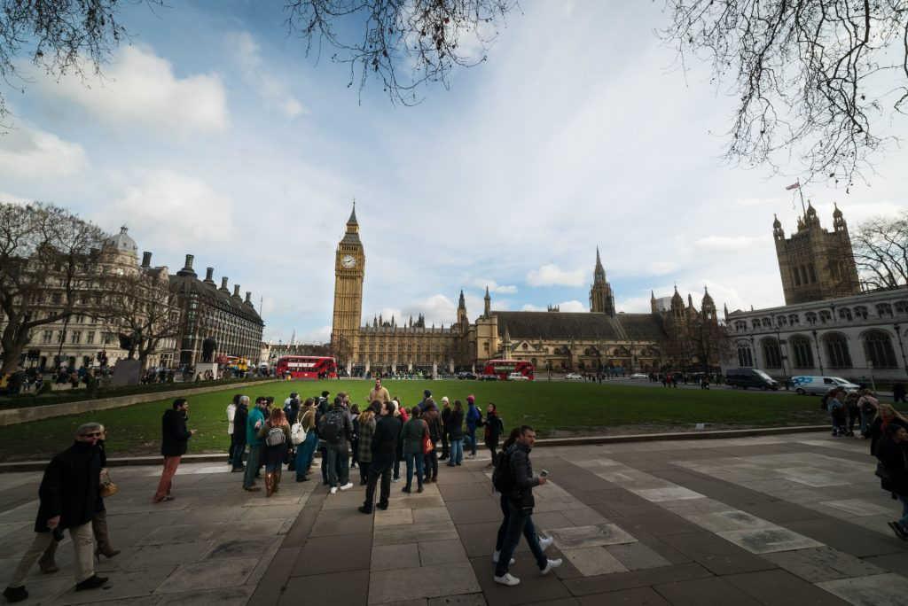 free walking tour of London England, Big Ben
