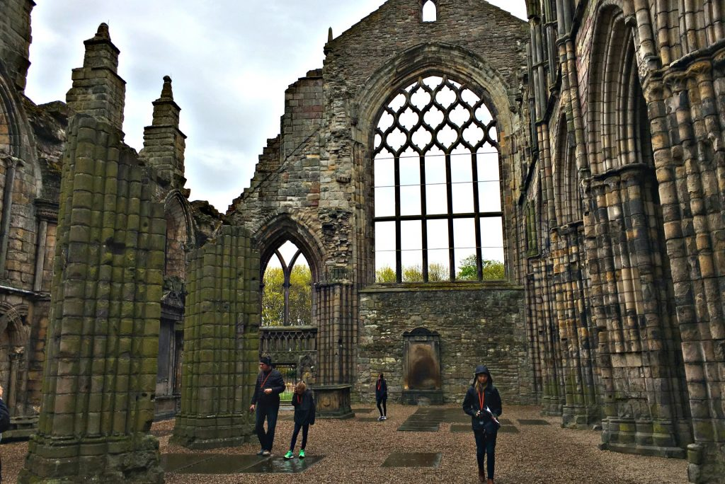 Palace of Holyroodhouse is a must see in Edinburgh Scotland