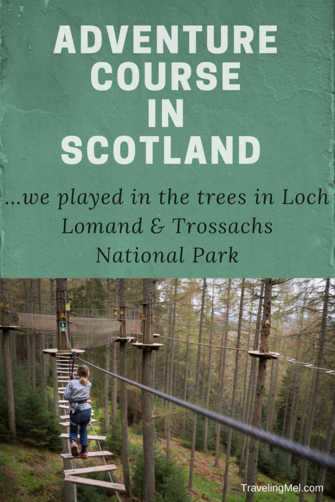 Everything you need to know to swing through the trees at Go Ape in Aberfoyle - in Loch Lomand & Trossachs National Park.