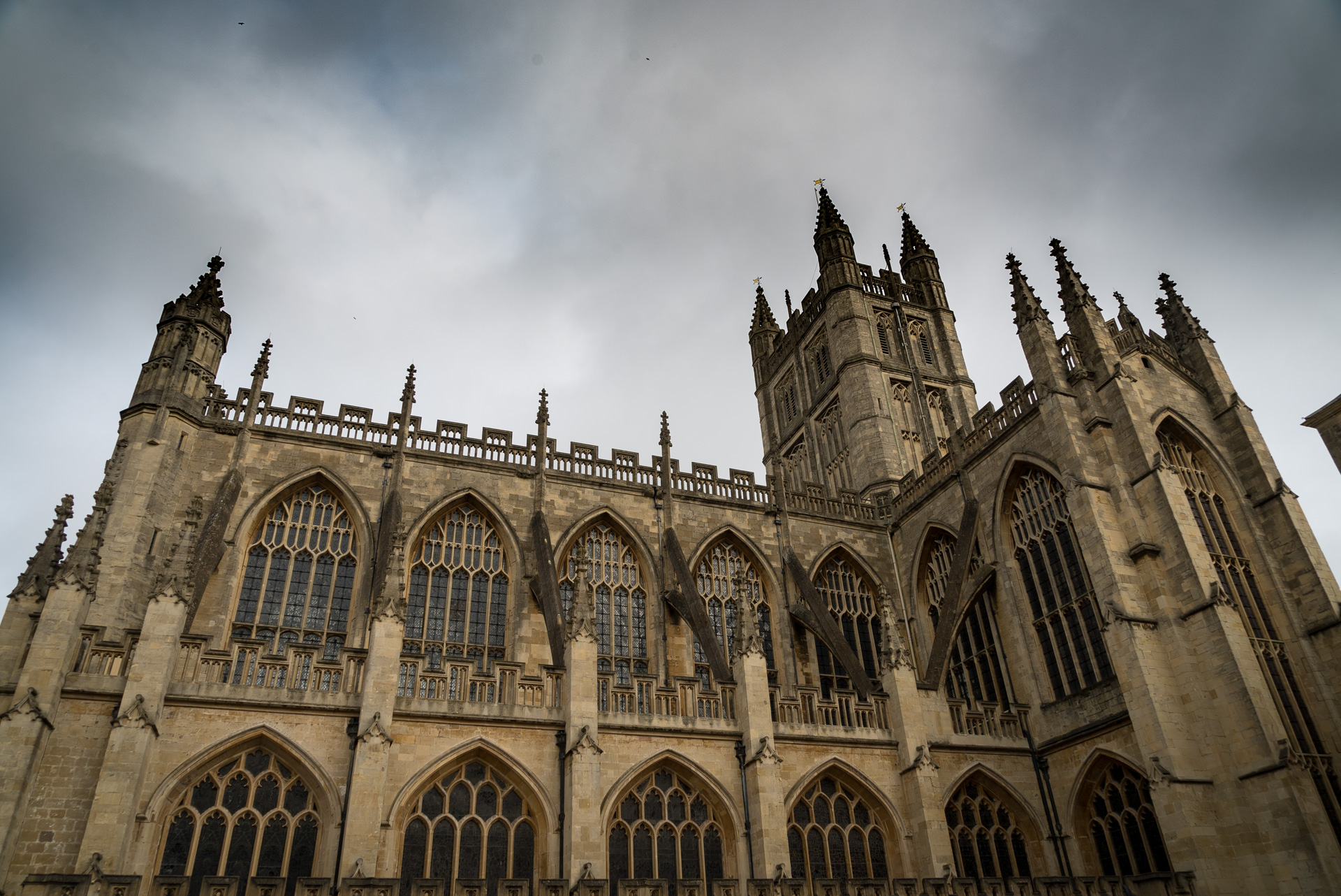 The Bath Abbey must be part of a day in Bath, England