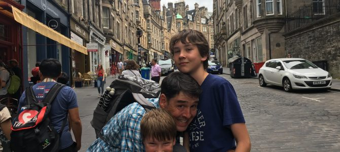 Fun Things to do in Edinburgh with Kids