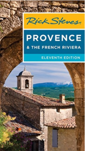 Rick Steves guidebook for Provence