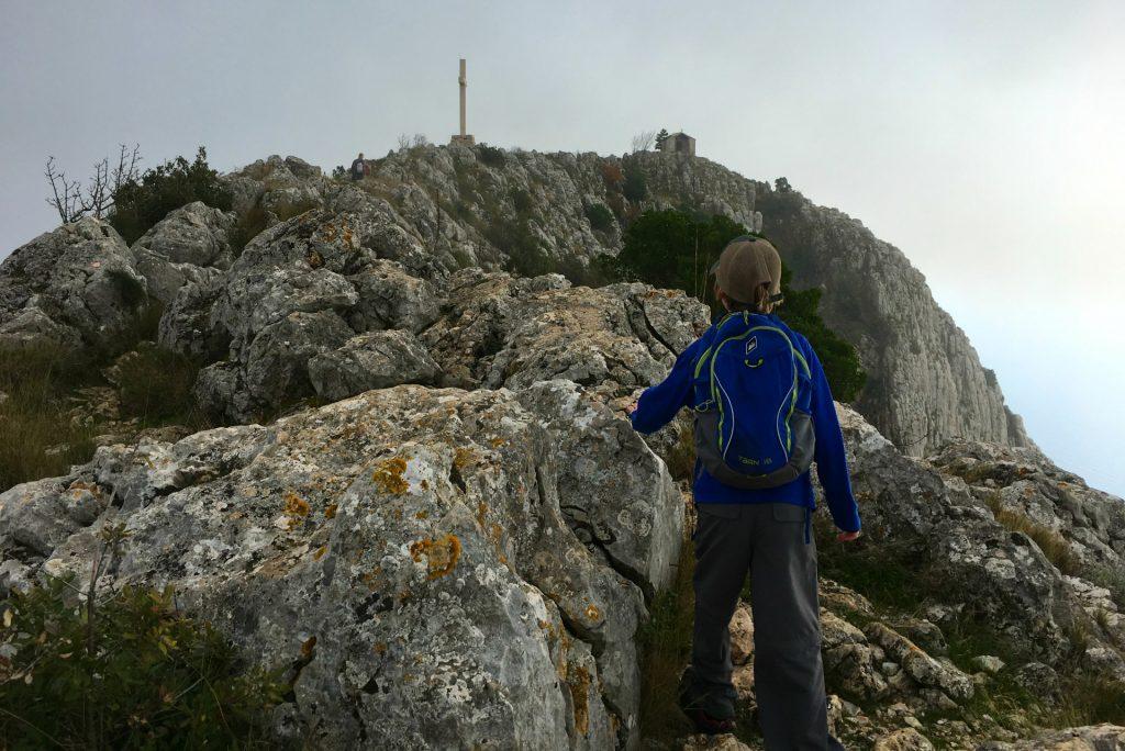 Hiking St Nicholas in Hvar Croatia