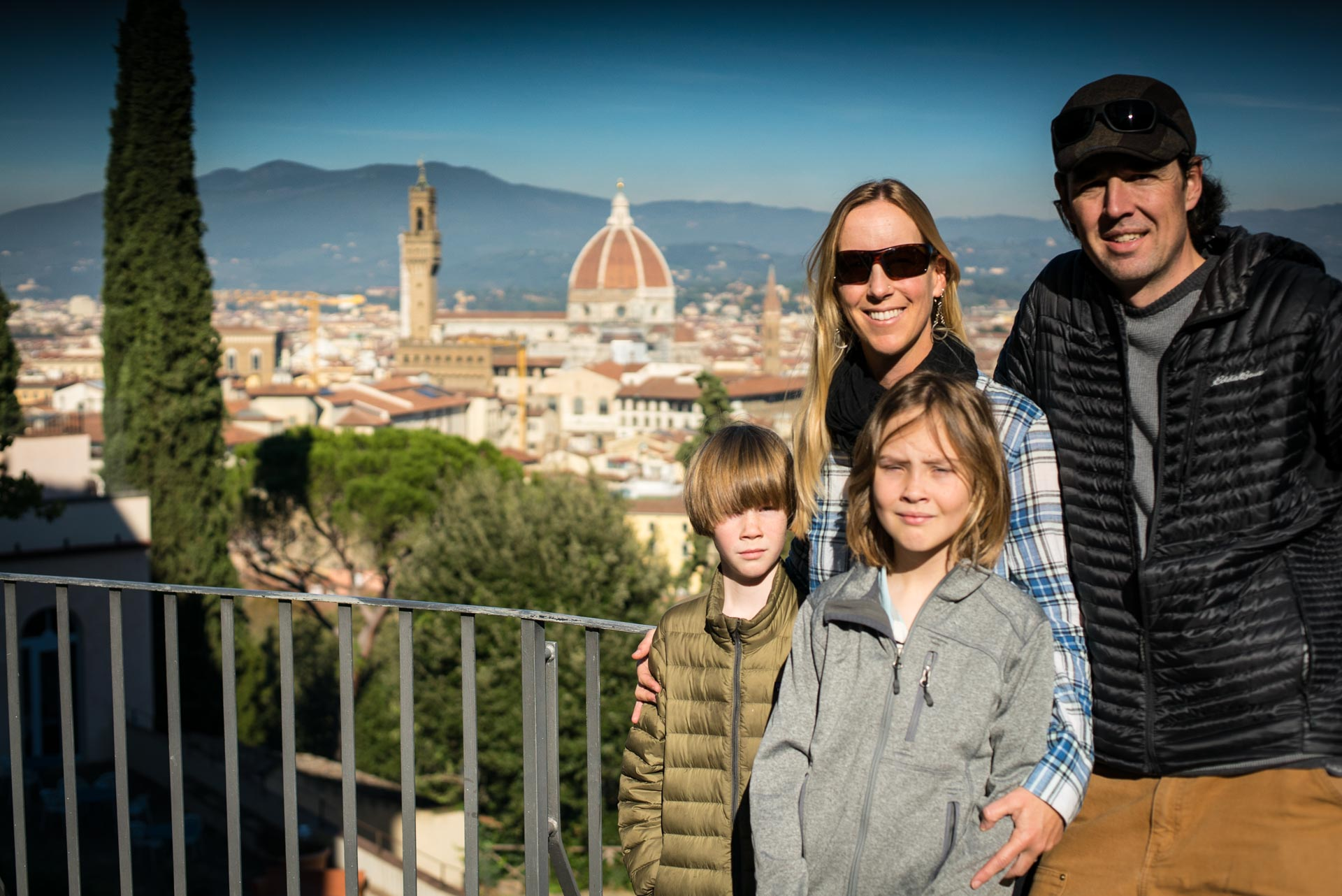 Family activities in Florence Italy