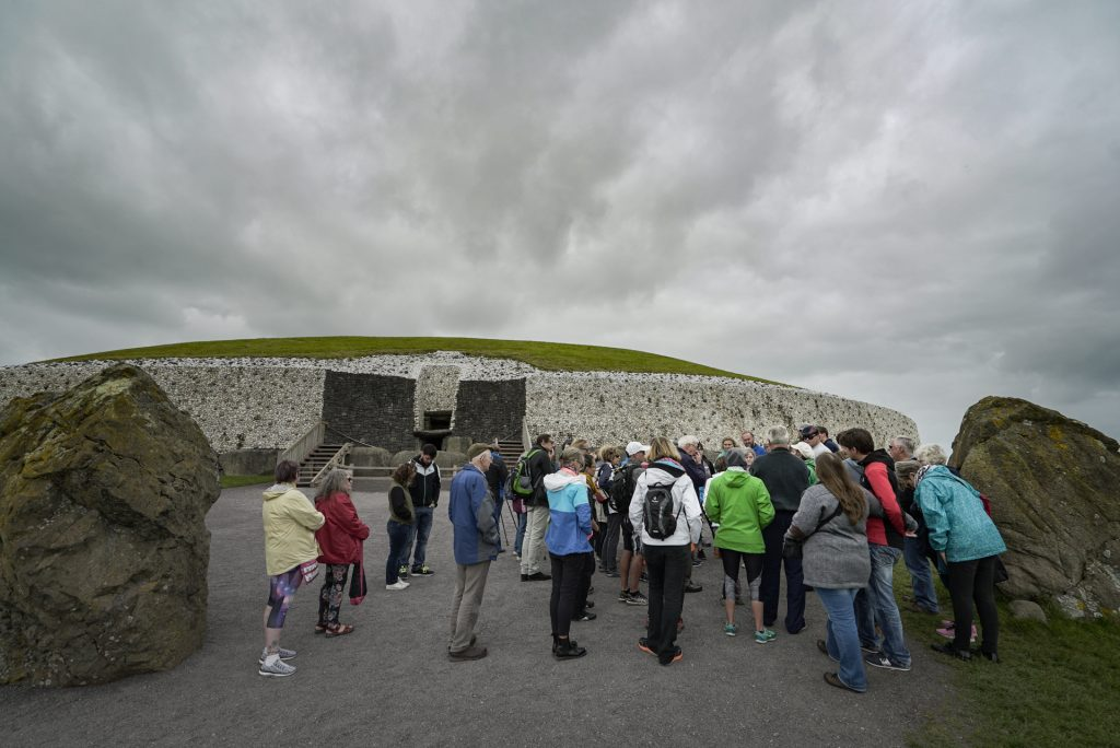How to visit Newgrange and Knowth passage graves in Ireland