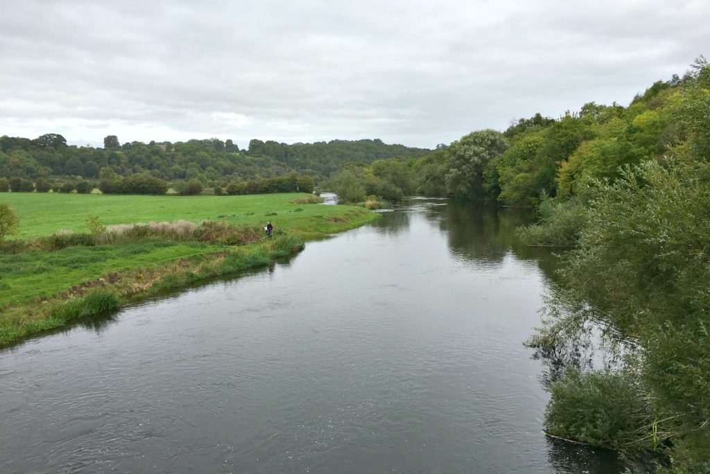 The Boyne River in Ireland drew people since the Stone Age.